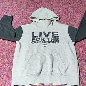 Kids timberland lg warm hoody excellent condition